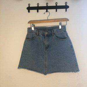 brandy melville (john galt) denim skirt